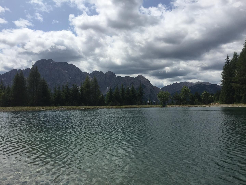Kleiner See vor Lienzer Dolomiten