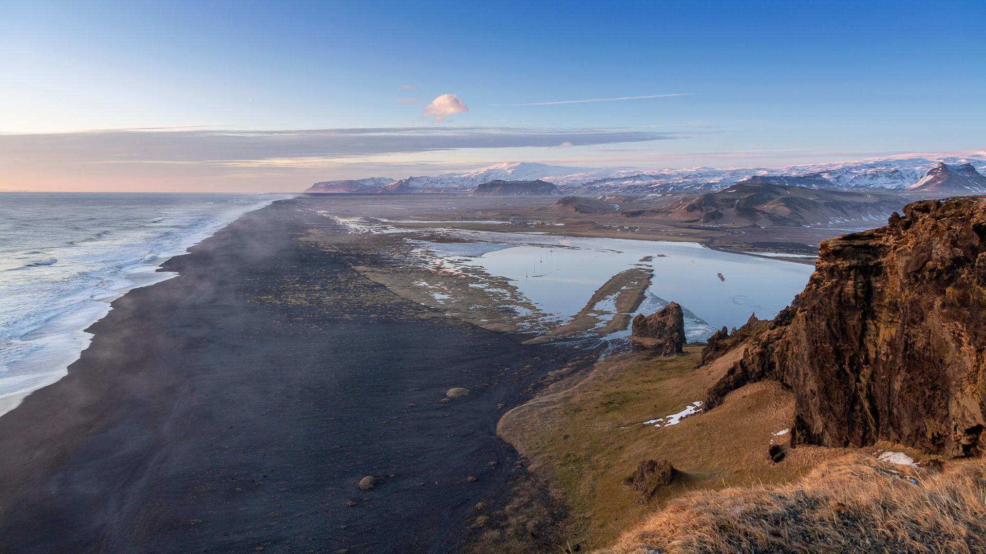 From Dyrholaey to Eyjafjallajökull