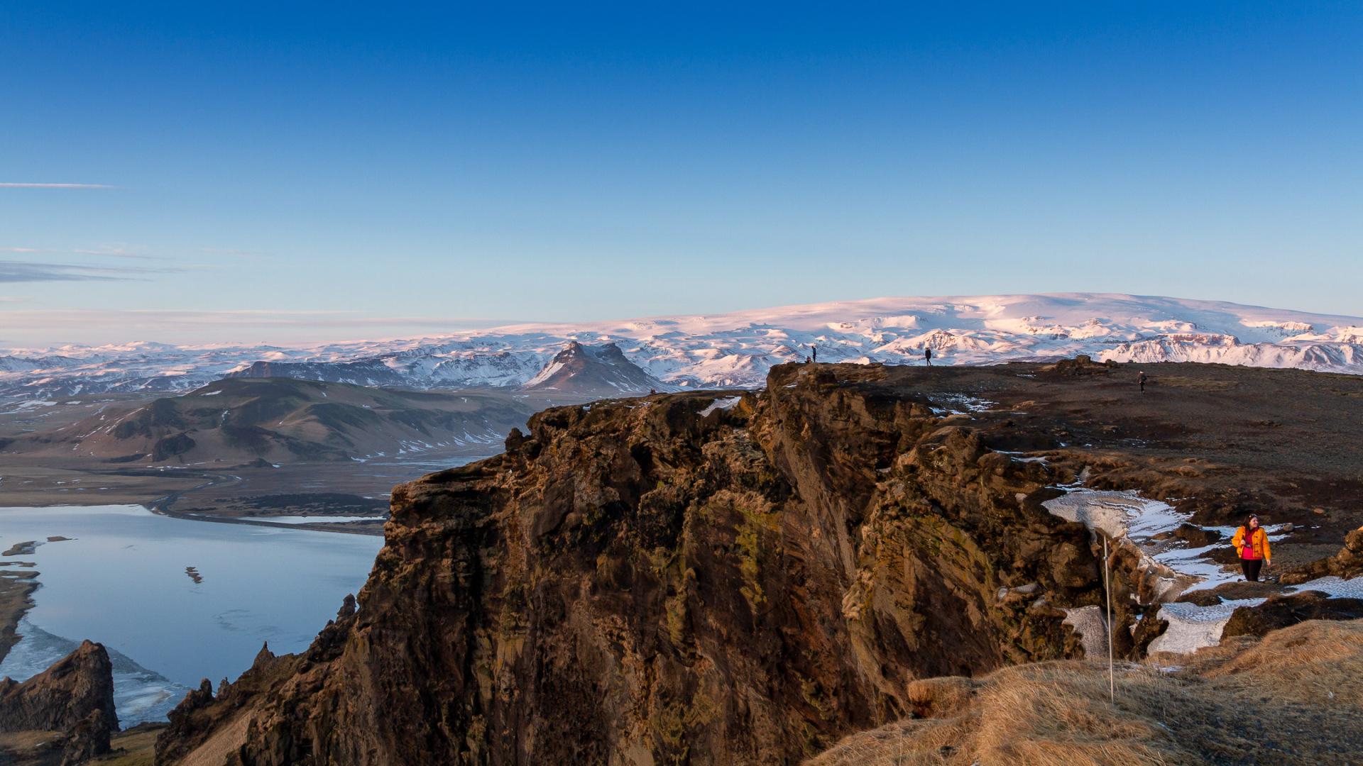 From Dyrholaey to Myrdalsjökull
