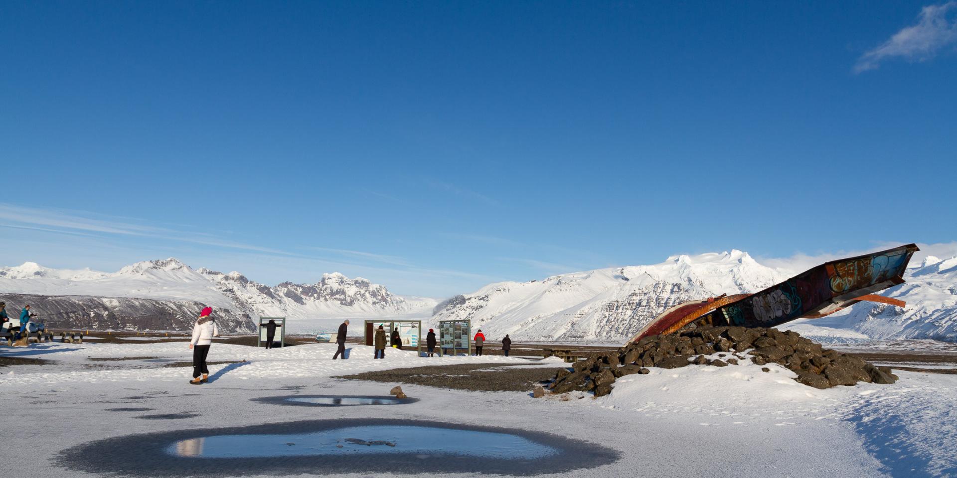 Skeiðarársandur glacier run memorial