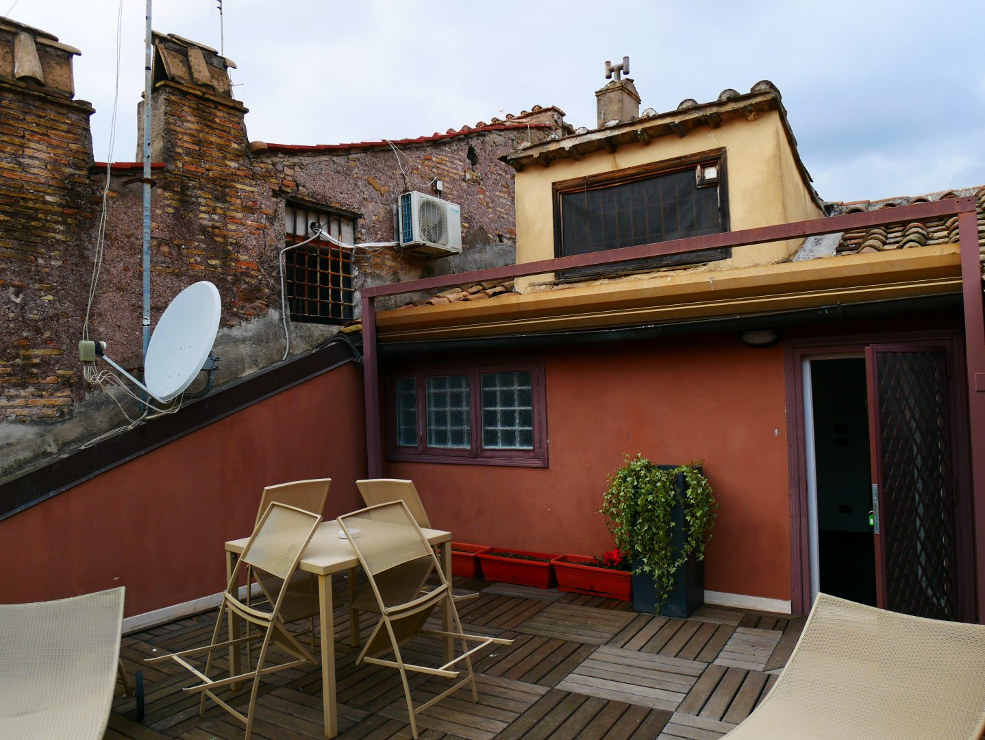 Rom, Navona Colors, Terrasse